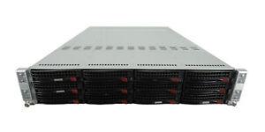 Supermicro-6026TT-BTRF-Fat-Twin-2U-Server-8x-5630-64GB-12x-Trays-Rails