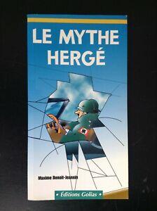 Le-mythe-Herge-Maxime-Benoit-Jeannin-2001-Tintin-TBE