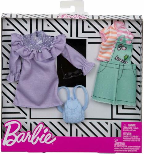 Barbie Fashionista Complete Look Fashion 2  Pack PASTEL COLORS