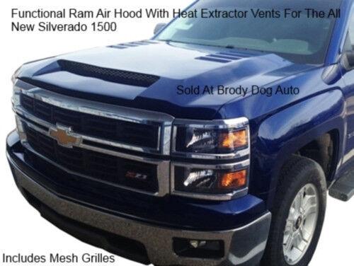 14-Up RKSport Chevrolet Silverado 1500 Ram Air Hood - 29016000