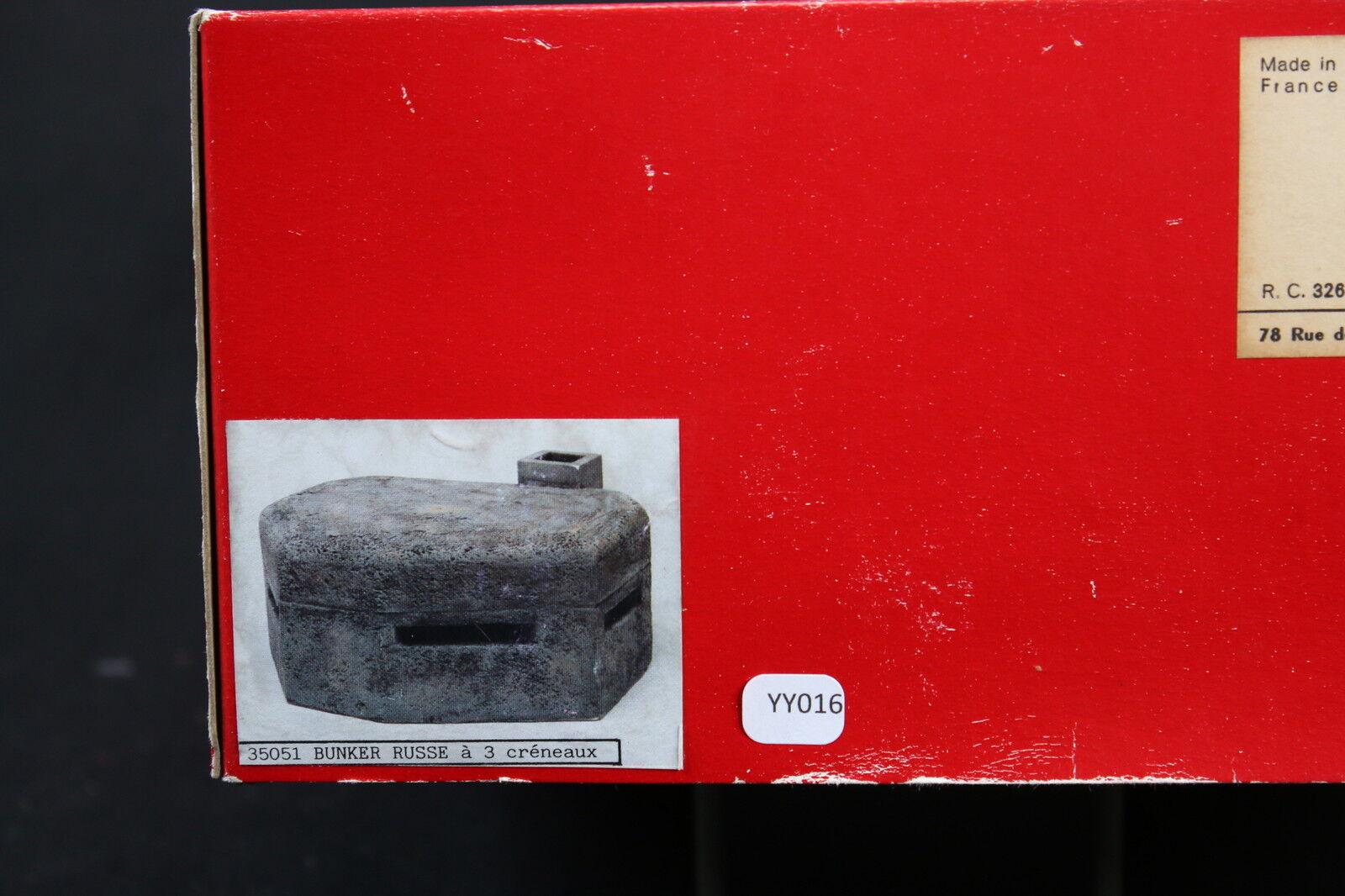 YY016 JMP Productions Rare Modell Construction Plasma 35051 Bunker Russian WII