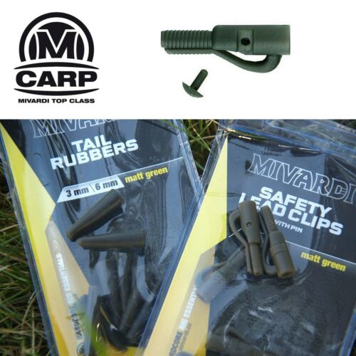 0,75 EUR//St. 6 x MIVARDI Safety Lead Clip mit Sicherungsstift
