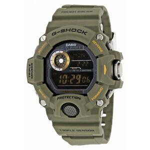 4480c909abd A imagem está carregando Rangeman-Casio -Masculino-Preto-Militar-Relogio-Sensor-Triplo-