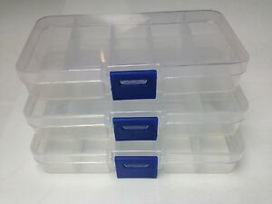 s l300 3x 10 compartment small organiser storage plastic box craft bead fuse storage box at couponss.co