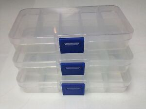 s l300 3x 10 compartment small organiser storage plastic box craft bead fuse storage box at creativeand.co