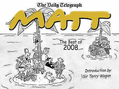 """""""AS NEW"""" Pritchett, Matt, The Best of Matt 2008 Book"""