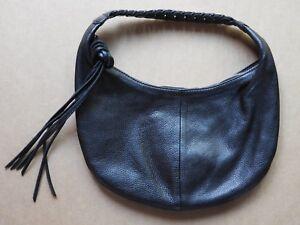 Image Is Loading Banana Republic Women 039 S Black Genuine Leather