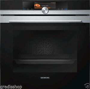 Einbaubackofen SIEMENS HB678GBS6 iQ700, Home Connect WLAN, TFT-Touch Plus