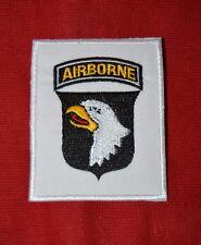 écusson brodé 101e Airborne Patch US Paratrooper insigne Normandie débarquement