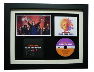 SIMPLY-RED-HUCKNALL-SIGNED-FRAMED-BLUE-EYED-SOUL-100-AUTHENTIC-FAST-GLOBAL-SHIP