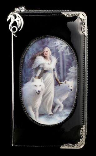 Winter Guardians Anne Stokes Geldbeutel Etui Fantasy Geldbörse mit 3D Motiv