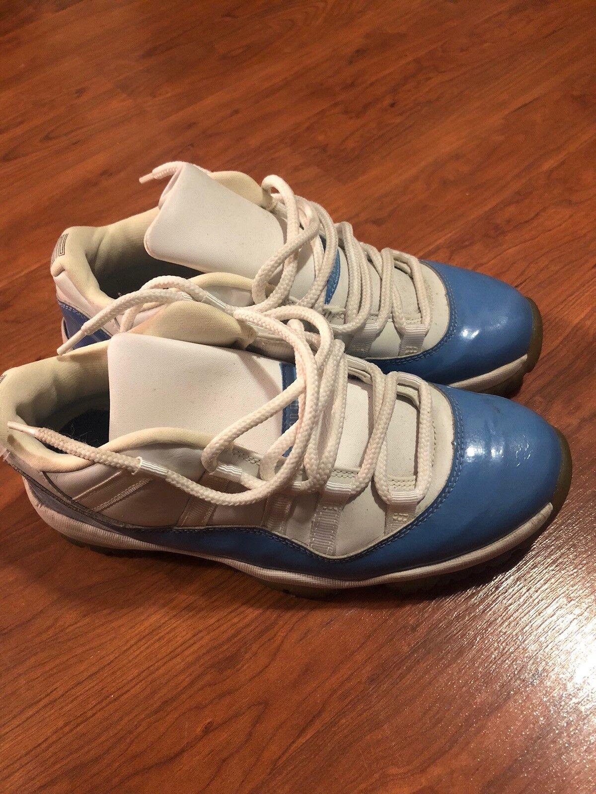 Air Jordan 11 Retro Low (Carolina bluee)