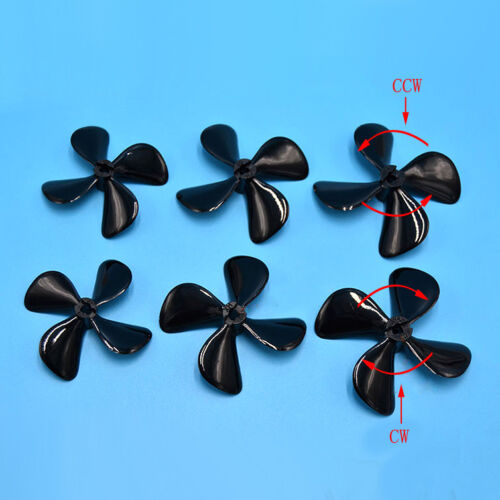 2x 50mm 55mm 60mm RC Boat 4 Blade PC Propeller Prop for 4mm Drive Shaft RC Ship