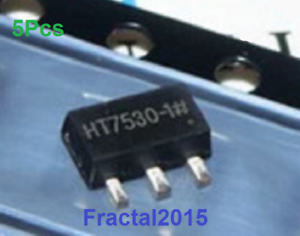 5Pcs HT7530-1 HT7530A-1 7530-1 SOT89