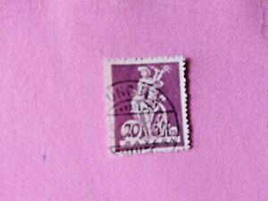 STAMPS-TIMBRE-POSTZEGELS-DUITSLAND-BAYERN-1920-NR-181-D15