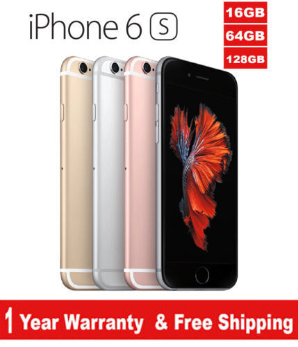 Original Apple iPhone 6s  4G LTE GSM Factory Unlocked Gray/Silver/Gold/RoseGold