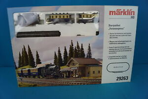 "Marklin 29263 Start Up Set ""Vacation Express"" DIGITAL FX NEW"