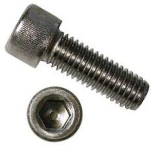 L1102 M3 x 10mm 3 x 10 Metric Black Hexagon Socket Head Cap Screw x10