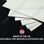 thumbnail 2 - Metal Signs - NO RIFF RAFF Retro Vintage Rif Raf Indoor Outdoor Garage Shed UK