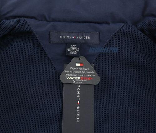 NWT TOMMY HILFIGER Men/'s Windbreaker Jacket Coat Water Resistant S M L XL 2XL