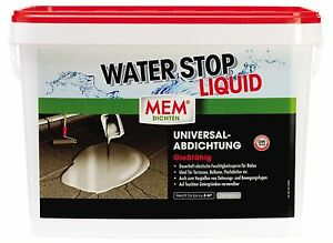 mem water stop liquid 14 kg ebay. Black Bedroom Furniture Sets. Home Design Ideas