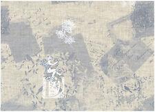 Tissu 100 % Lin - Patchwork - Cartonnage - Sac - Deco - Vendu par 20 cm - Anges