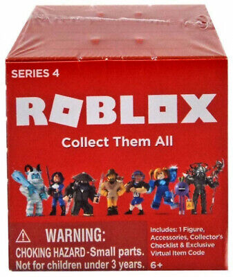Roblox Toys Mystery Figures Design And Exclusive Items Roblox Toys Mystery Box Series 4 Surprise Action Figures Roblox Toys 681326107828 Ebay