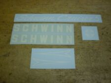 """Later Style Schwinn Spitfire 26/"""" Water Transfer Bicycle Decal"""