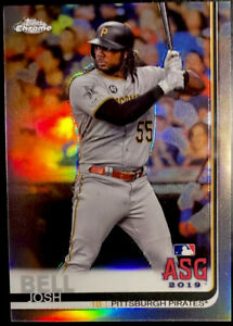 2019 JOSH BELL /250 TOPPS CHROME UPDATE #84 ASG REFRACTOR Pirates Nationals