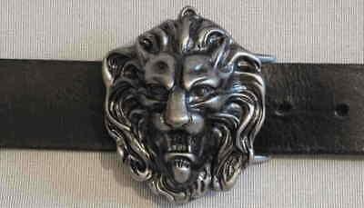 1a SattlerqualitÄt Ledergürtel Neu Gürtel Auf Maß Leder Löwe Massiv Löwenkopf # Carattere Aromatico E Gusto Gradevole
