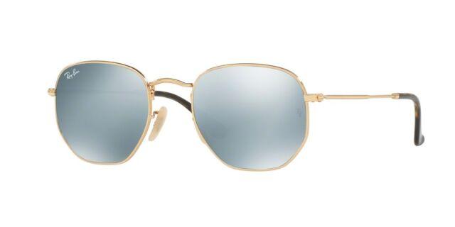 db18b6885f090 Original Ray Ban Sunglasses Rb3548n Gold Frame 001 30 48mm Silver ...