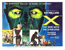 "The Man with the X-ray Eyes Movie Poster Replica 11x14"" Photo Print"