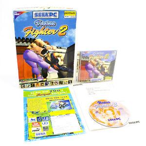 Virtual-Fighter-2-fuer-PC-CD-Rom-in-BIG-BOX-von-Sega-of-America-1997-CIB