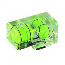 Camera Flash Hot Shoe Spirit Level Double 2 Axis Bubble UK Seller