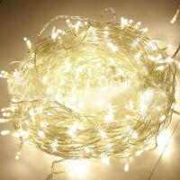 100/200/300/400/500 LED String Fairy Lights Indoor/Outdoor Xmas Party Christmas