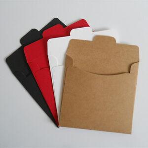 Colorful Kraft Paper Cd Packaging Bag Envelope Wedding Party Sleeve