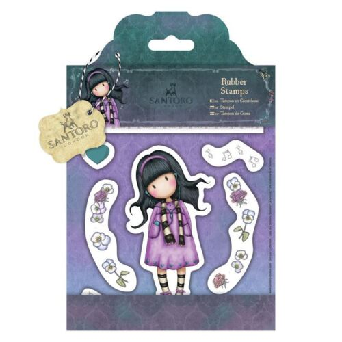 Do-crafts Rubber Stamps The Little Song  for cards//crafts Santoro