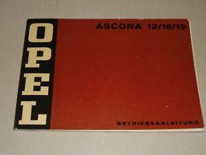 Instrucciones-Servicio-Manual-Opel-Ascona-a-12-16-19-Stand-06-1973