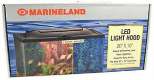 20x10 Inch Marineland Led Aquarium Top Hood Lid Ebay