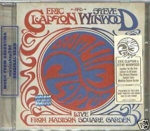 Eric Clapton Steve Winwood Live Madison Square Garden Sealed 2 Cd Set New 93624979883 Ebay