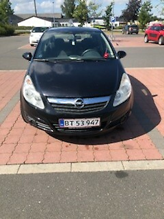 Opel Corsa, 1,4 16V Enjoy, Benzin, 2008, km 129300, sort,…