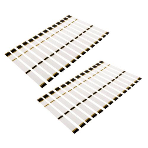 Pack of 30 Pieces Durable Heat Shrinkable Archery Arrow Wraps 19.5 x 2cm