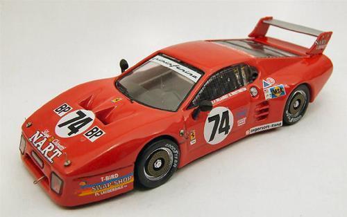 Ferrari Bb 512 Le Mans Le Mans 1980 Best 1 43 Be9361 Modellino Auto Diecast