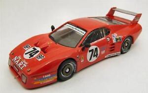 Ferrari Bb 512 Le Mans 1980 Meilleure voiture miniature modèle 1:43 Be9361