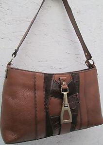 AUTHENTIQUE-sac-a-main-ETIENNE-AIGNER-cuir-TBEG-bag-vintage