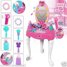 Bambini giocattolo Trucco Dressing tavolo gioco di ruolo Ragazze VANITY LUCE MUSICA Set regalo di Natale