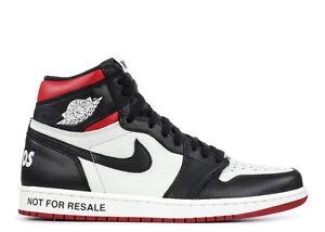 Details about Nike Air Jordan 1 Retro High OG Not For Resale Varsity Red  Size 14. 861428-106