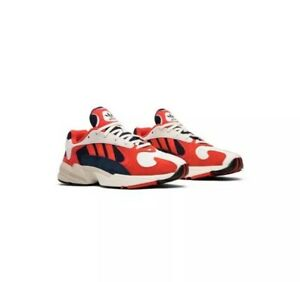 7402457ec2d Image is loading Adidas-Yung-1-Collegiate-Navy-Red-White-Mens-