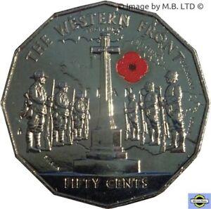 Coat of Arms 2019 IRB Ian Rank Australia 50 Cent Coin aUNC // UNC