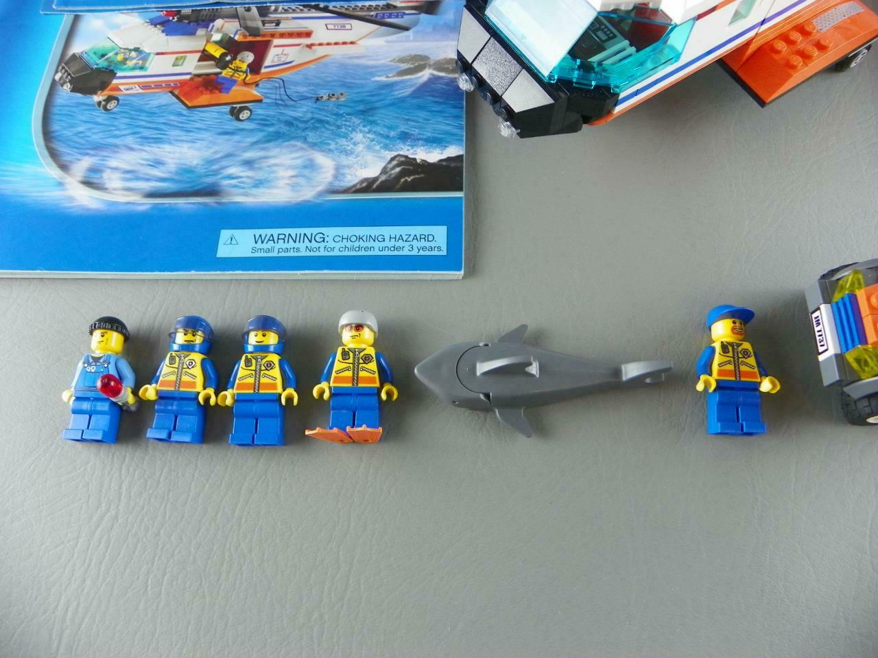 7738 Coast 100Complete Helicopter 7737 City Lego Guard bIEW2eDH9Y